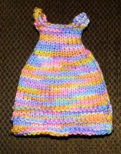 The Loom Muse Creations and Ideas: How to Loom Knit Doll Dress