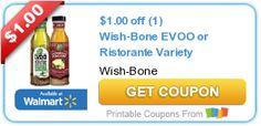 FREE Wish-Bone EVOO Dressing at Target After Coupon, Cartwheel, and Ibotta!