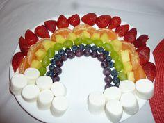 fruit rainbow!