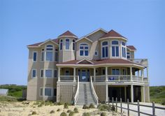 Twiddy Outer Banks Vacation Home - Wit's End - Corolla - Oceanfront - 7 Bedrooms,  Our family vacation beach house in OBX in June 2012
