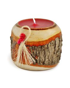 Lihuen Mamüll - Wooden Candle. $14