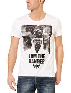 Tee-shirt 'Breaking Bad' danger Homme