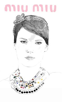 MIU MIU by Hyeeun Kim, via Behance