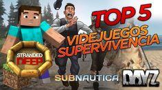 TOP 5 VIDEOJUEGOS DE SUPERVIVENCIA | ROKZZ GAMER