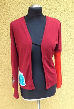 upper palatinate rocks: WOMEN 2014 rework red punk vest