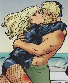 Black Canary & Green Arrow.