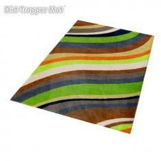 Dirt-Trapper Design Mat - Modern Stripes Utopia- 75 x 100 cm #stripes
