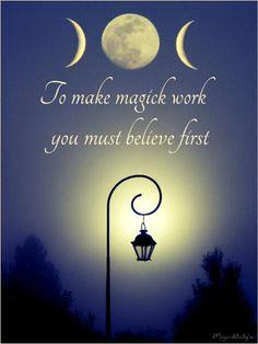 I do believe, I do believe, I do believe... . ... .... .