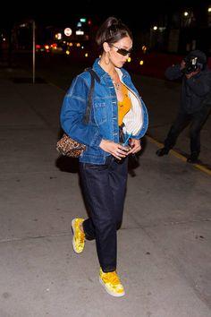 Bella Hadid is seen in Brooklyn on December 11 2017 in New York City