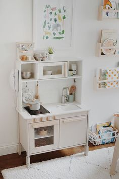 arlo's nursery : updates - almost makes perfect - toddler room ideas Playroom Design, Playroom Decor, Kids Room Design, Modern Playroom, Playroom Ideas, Kids Decor, Ikea Kids Kitchen, Wooden Play Kitchen, Toy Rooms
