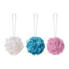 IKEA 3 Pcs Body Puff Exfoliating Polishing Sponge - Assorted Colour ÅBYÅN http://www.amazon.co.uk/dp/B012H54BBY/ref=cm_sw_r_pi_dp_kY4bxb1K734SY