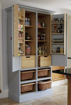 i want an antique larder like this but to use as a tv unit x how amazing would that look x x would need my shaun to customise it x x