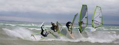 Windsurf jump sequence by ~blindrider on deviantART Sequence Photography, Water Photography, Photography Photos, Surfing Tips, Sup Surf, Big Waves, Windsurfing, Big Challenge, Paddle Boarding