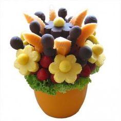 SUNFLOWER - Gyümölcscsokor - céges ajándék