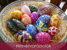 """Ha Húsvét, akkor először a színek jutnak eszembe. A tojások """"pírja"""", aranyvessző sárgája, barackvirág rózsaszínje, a füvek illatos-zöldje. Az ünnep Dédikénél."""