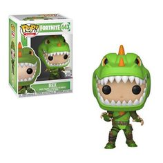 This is a Fortnite POP Rex Vinyl Figure made by the good people over at Funko. This figure looks great in its Funko POP version! Recommended Age: Condition: Brand New and Sealed Dimensions: X Funko Fortnite POP Rex Vinyl Figure. Pop Vinyl Figures, Funko Pop Figures, Vinyl Toys, Funko Pop Vinyl, Marvel Legends, Galactic Toys, Pokemon, Nintendo, Battle Royale