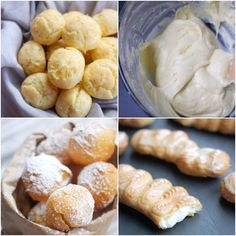 How to Make Basic Pate a Choux or Choux Pastry- this is something I gotta give a go. totally new to me.