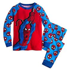 Marvel Spider-Man PJ PALS Pajamas for Boys Size 4 Marvel