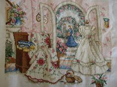 My Paula Vaughan Cross Stitch