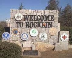 Welcome to Rocklin, California....a beautiful place