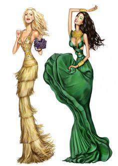 Pergamino #Fashion #Illustration