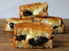 Little Devil (on horseback) – Bacon Wrapped Dates and Blauschimmel Grilled Cheese | Grilled Cheese Social