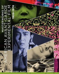 Masterworks of American Avant-garde Experimental Film 1920-1970 (37 Films) - Blu-Ray/DVD Combo (Flicker Alley Region A/1) Release Date: October 6, 2015 (Amazon U.S.)