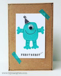 Bij Margriet; Stampin' Up! bestellen: Allemaal Beestjes.... | Playful Pals | extra cadeautje