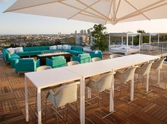 As part of the 2015 renovation and expansion of the all-suite London West Hollywood, the stylish Los Angeles hotel called on fashion icon Vivienne Westwood to lend her style to the newly constructed 11,000-square-foot penthouse (split between 6,000 of indoor space and an outdoor rooftop terrace). Westwood's custom-made furnishings, upholstery, tapestries, and art in this two-bedroom suite have impressed the glitterati (celebrity guests have included Gwen Stefani, Joe Jonas, and Kim…
