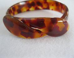 Snake Bracelet By French Desisgner Lea Stein