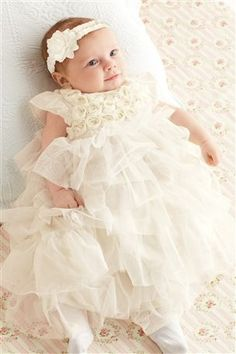 Christine-I found the most adorable (and decent priced) christening outfit for you!