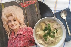 We Made Dolly Parton's Signature Recipe for Chicken and Dumplings We know Dolly Parton knows country music, but what about country cooking? We put Dolly's signature chicken and dumpling recipe to the test. Pudding Recipes, Soup Recipes, Chicken Recipes, Cooking Recipes, Recipies, What's Cooking, Turkey Recipes, Cooking Zucchini, Copykat Recipes