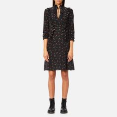 Get Coach Women's Western Shirt Dress - Black/Multi now at Coggles - the one stop shop for the sartorially minded shopper. Free UK & EU delivery when you spend £50.