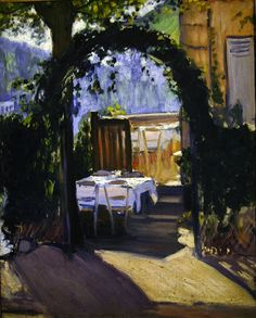 Louis Anquetin - The Arbour