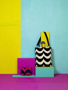Sara totebag & Ulpu cosmetic bag / Marimekko S/S 14