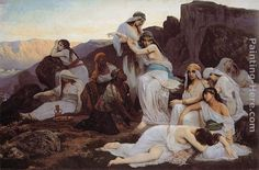 Edouard Bernard Debat-Ponsan The Daughter of Jephthah