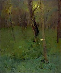 Trees, 1886, Thomas Millie Dow