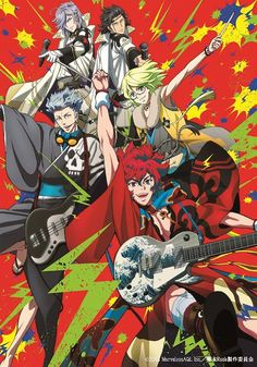 Bakumatsu Rock I haven't watched the show yet but someone awesome recommended it so im sure it's good.