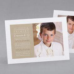 Recordatorios de comunión personalizados,  fpc Boy Models, Art Model, First Communion, Kids Sports, Bbc, Babies, Invitations, First Holy Communion, Babys