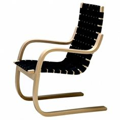 Artek Lounge Chairs & Armchairs Relax in style with the designs of master architect turned furniture designer Alvar Aalto. Aalto originally designed these now-classic easy chairs, utilising moulded laminated wood, sturdy fabric, and .