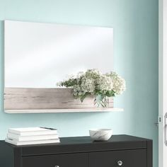 Free delivery over to most of the UK ✓ Great Selection ✓ Excellent customer service ✓ Find everything for a beautiful home Over The Door Mirror, Mirror Door, Cube Shelves, Shelf, Garden Mirrors, Mirrors Wayfair, Open Shelving, Floating Nightstand, Decorative Items