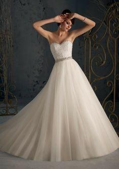 Hot sale 2013 Modern Elegant A line Bride Gown Wedding dress Floor length Court Lace up back Custom Made size      292 on Aliexpress.com