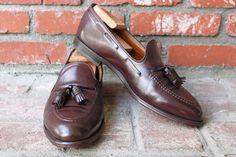 Alden Shell Cordovan tassel loafers