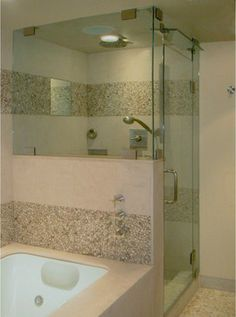 Beverly Hills Condo - contemporary - bathroom - los angeles - Endgrain Architecture - Mr. Steam steam shower