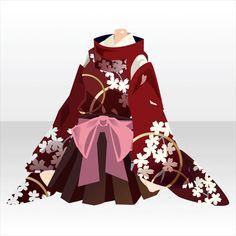 月の出を待ち…ガチャ@セルフィ「望月の宵」登場! Anime Outfits, Girl Outfits, Fashion Outfits, Kimono Design, Anime Dress, Dress Drawing, Fashion Design Drawings, Japanese Outfits, Character Outfits