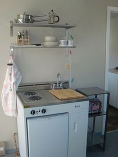 Someday I will have a cozy cottage in the woods ~ and this Avant Compact Kitchen would be perfect!