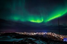 Nuuk is capital city of Greenland and one of the smallest capital cities in the world (population 17,316)