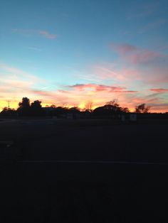 The View from Rikki's Refuge! www.rikkisrefuge.org Early sunrise. (10/25/14)