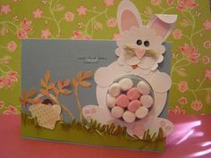 Mr Bunny Easter Card