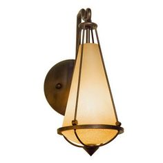 "Hallway wall sconce $209.00 each (14""H x 4""W)...reminiscent of a lantern!  Takes special light bulbs though :("